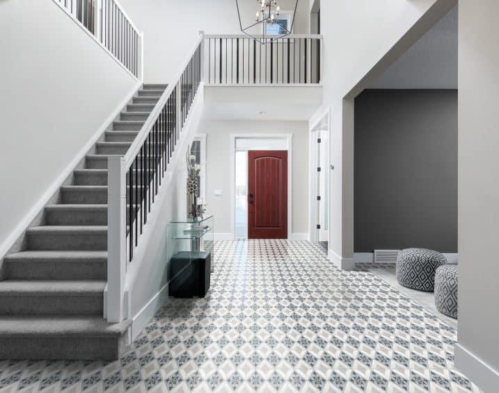 60 329 60 307 8x8 Form Tide Northstar Deco Porcelain Tile Lifestyle