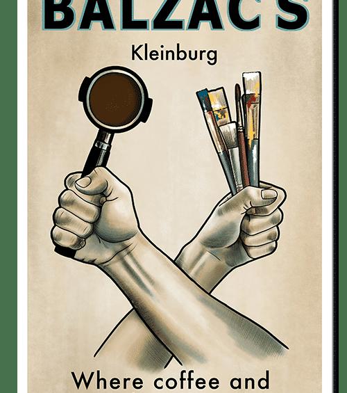 balzacs kleinburg poster