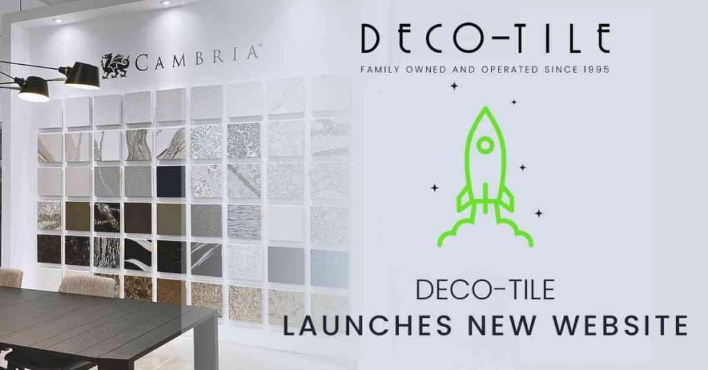 Deco Tile website launch New