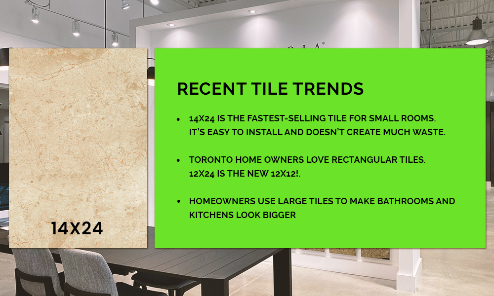 recent tile trends